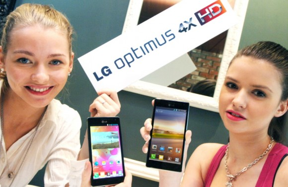 LG Optimus 4X HD es el primer teléfono inteligente Quad-Core del mundo