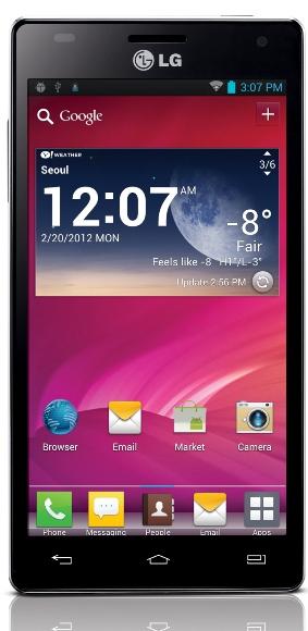 LG Optimus 4X HD llega a India a Rs.  34,990