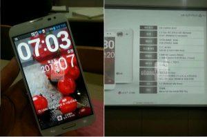 LG Optimus G Pro con fugas de pantalla de 5.5 ″ con posibles especificaciones, se espera la presentación del MWC