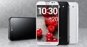 LG Optimus G Pro con pantalla de vidrio curvo de 5.5 pulgadas y efecto 2.5D se vuelve oficial
