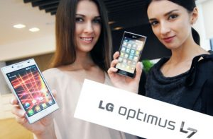 LG Optimus L7 se lanzará en Europa este mes