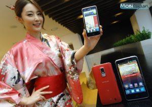 LG Optimus LTE se lanza con resolución de pantalla HD en Japón