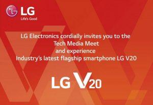 LG V20 con pantalla secundaria y configuración de cámara dual que se lanzará en India el 5 de diciembre