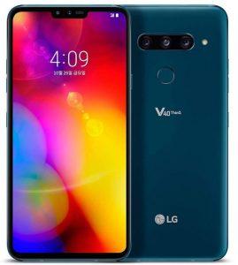 LG V40 ThinQ con 5 cámaras ahora disponible en India en Amazon