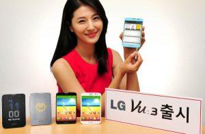 LG Vu 3 con pantalla de 5.2 pulgadas y cámara de 13 MP anunciado