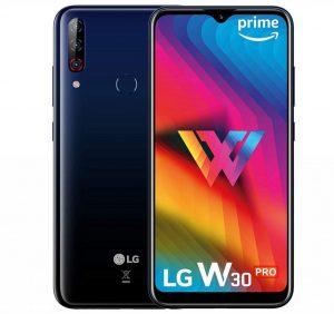 LG W30 Pro sale a la venta en India;  cuenta con SD632 SoC, 4 GB de RAM y cámaras traseras triples