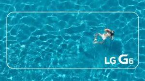 LG comparte videos que muestran que el G6 es resistente al polvo y al agua