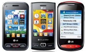 LG lanza 3 nuevos móviles: T30i, T325 y P520 en India