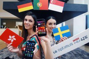 LG lanza Optimus True HD LTE en Europa y Asia