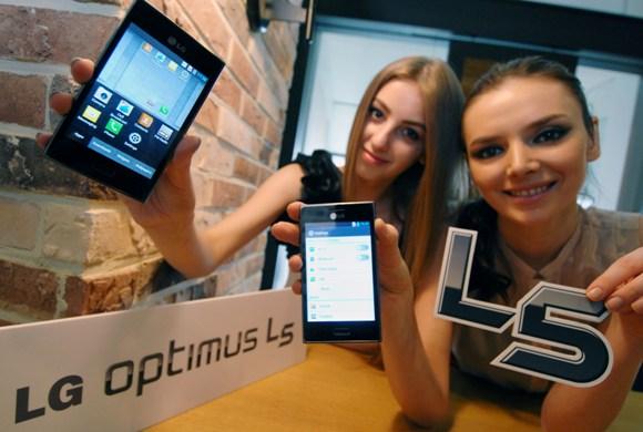 LG lanza el Optimus L5 en Europa