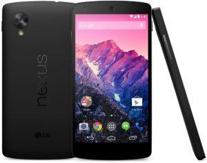 LG lanza Nexus 5 en India por Rs.  29999 para la versión de 16 GB y Rs.  33999 para la versión de 32 GB