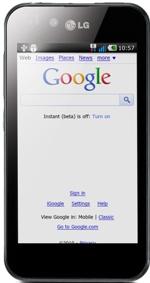 LG presenta el teléfono más delgado del mundo Optimus Black