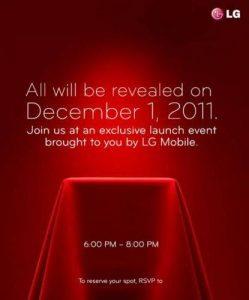 LG puede presentar Nitro HD el 1 de diciembre