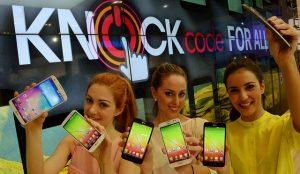 LG traerá la actualización Knock Code a LG G2 y G Flex en abril