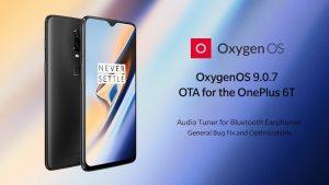 La actualización OxygenOS 9.0.7 para OnePlus 6T trae un sintonizador de audio para auriculares Bluetooth