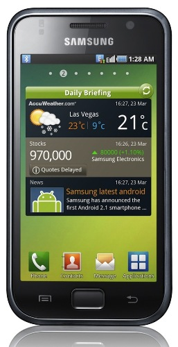 Samsung vende su teléfono inteligente Galaxy S número 10 millones