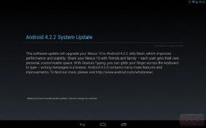 La actualización de Android 4.2.2 trae un interruptor de un toque para Bluetooth, Wi-Fi