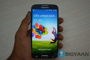 Samsung Galaxy S4 recibe Android Lollipop en India