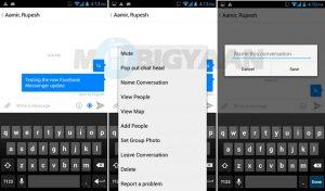 La actualización de Facebook Messenger para Android y iPhone trae chats grupales y más