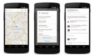 La actualización de Google Maps para Android e iOS trae una nueva función de exploración