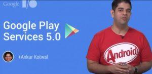 La actualización de Google Play Services 5.0 comienza a implementarse