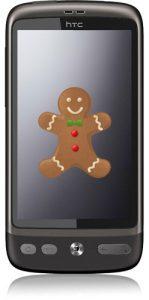 La actualización de HTC Desire Gingerbread comienza a aparecer con una advertencia