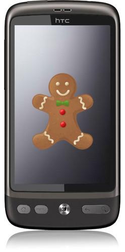 HTC Desire para obtener la actualización de Gingerbread