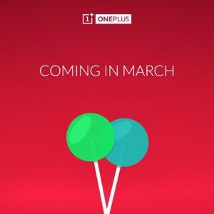 La actualización de OnePlus One Lollipop y Oxygen OS llegarán a fines de marzo