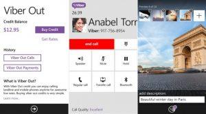 La actualización de Viber 4.1 para Windows Phone trae Viber Out y más