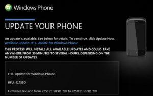 La actualización de firmware lleva el uso compartido de Internet a HTC Mozart en India