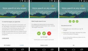 """La actualización de la Búsqueda de Google hace que """"OK Google"""" funcione desde cualquier lugar de la pantalla"""