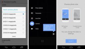 La actualización de la cámara de Google para Android trae nuevas opciones de panorama, temporizador y más
