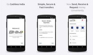 Servicio de pago digital BHIM-Aadhaar lanzado por el primer ministro indio Narendra Modi