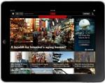 La aplicación CNN viene en la tienda de aplicaciones para iPad