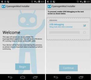 La aplicación CyanogenMod Installer ya está disponible en Google Play