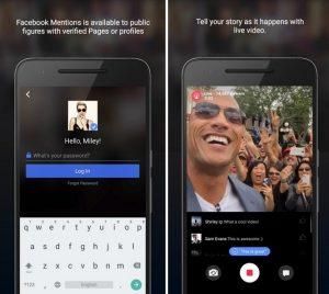 La aplicación Facebook Mentions llega a Android;  Disponible solo para figuras públicas verificadas