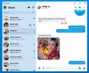 La aplicación Facebook Messenger Desktop llegará a Windows y Mac