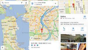 La aplicación Google Maps ahora está disponible para dispositivos iOS con navegación paso a paso