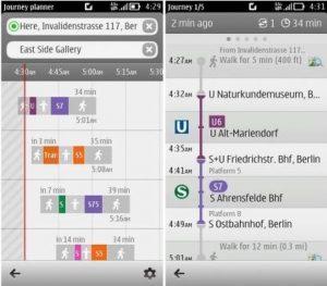 La aplicación Nokia Public Transport se actualiza a v2.0.3, es compatible con dispositivos Symbian S60 5th (Symbian ^ 1)