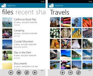 La aplicación SkyDrive para Windows Phone ya está disponible