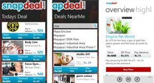 La aplicación Snapdeal para Windows Phone ya está disponible