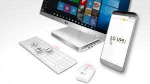 La aplicación VPInput de LG permite a los usuarios controlar su G4, G5 y V10 desde una PC