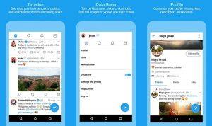 La aplicación de Android Twitter Lite para usuarios con conexiones a Internet más lentas ahora está disponible en 24 países más