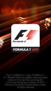 La aplicación de Fórmula 1 ahora en la tienda Google Play y la tienda de aplicaciones iOS;  te permite vivir carreras en pista