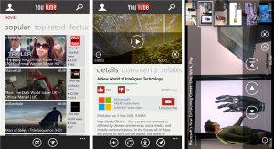 La aplicación de YouTube para Windows Phone puede estar bloqueada debido a una infracción de los Términos de servicio