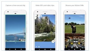 La aplicación de creación de GIF de Google Motion Stills ahora está disponible en Android