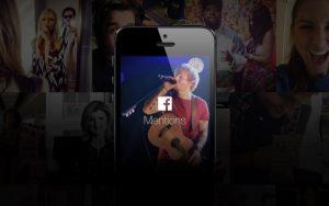 La aplicación de menciones solo para celebridades de Facebook llega a la India y a más de 40 países más