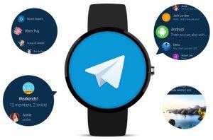 La aplicación de mensajería Telegram ahora disponible en Android Wear 2.0