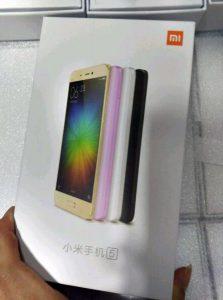La caja minorista Xiaomi Mi 5 se filtró antes del lanzamiento del MWC 2016