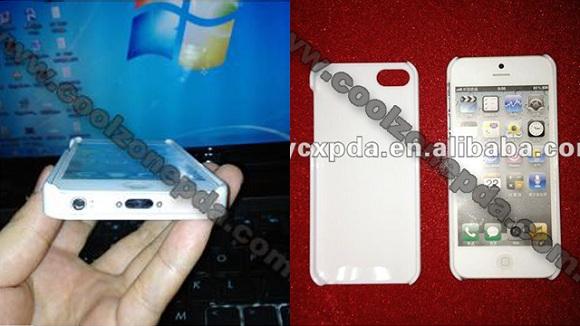 La carcasa del iPhone 5 presenta fugas que apuntan al diseño final